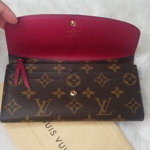 Louis Vuitton Bags - EUC LOUIS VUITTON EMILIE MONOGRAM FUCHSIA WALLET